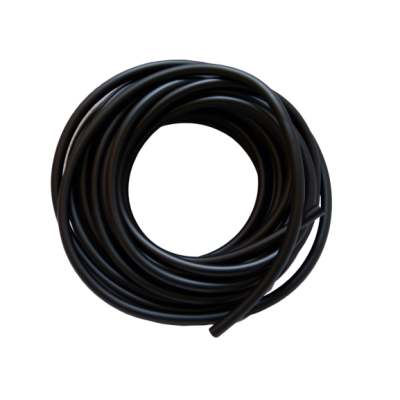 1m benzine slang zwart rubber