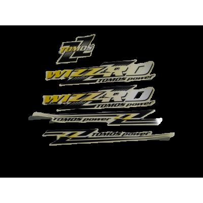 Tomos Wizzard sticker set