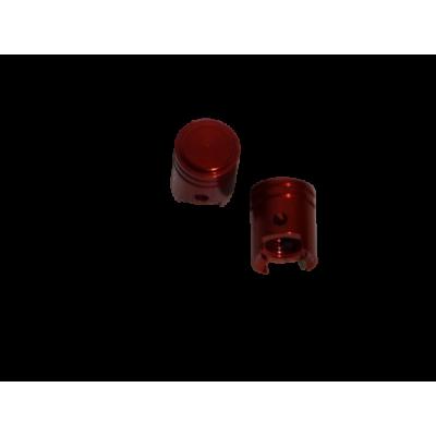 Ventiel doppen rood zuiger