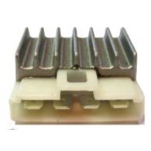 Spanningsregelaar plat model- 4 polig nieuw type